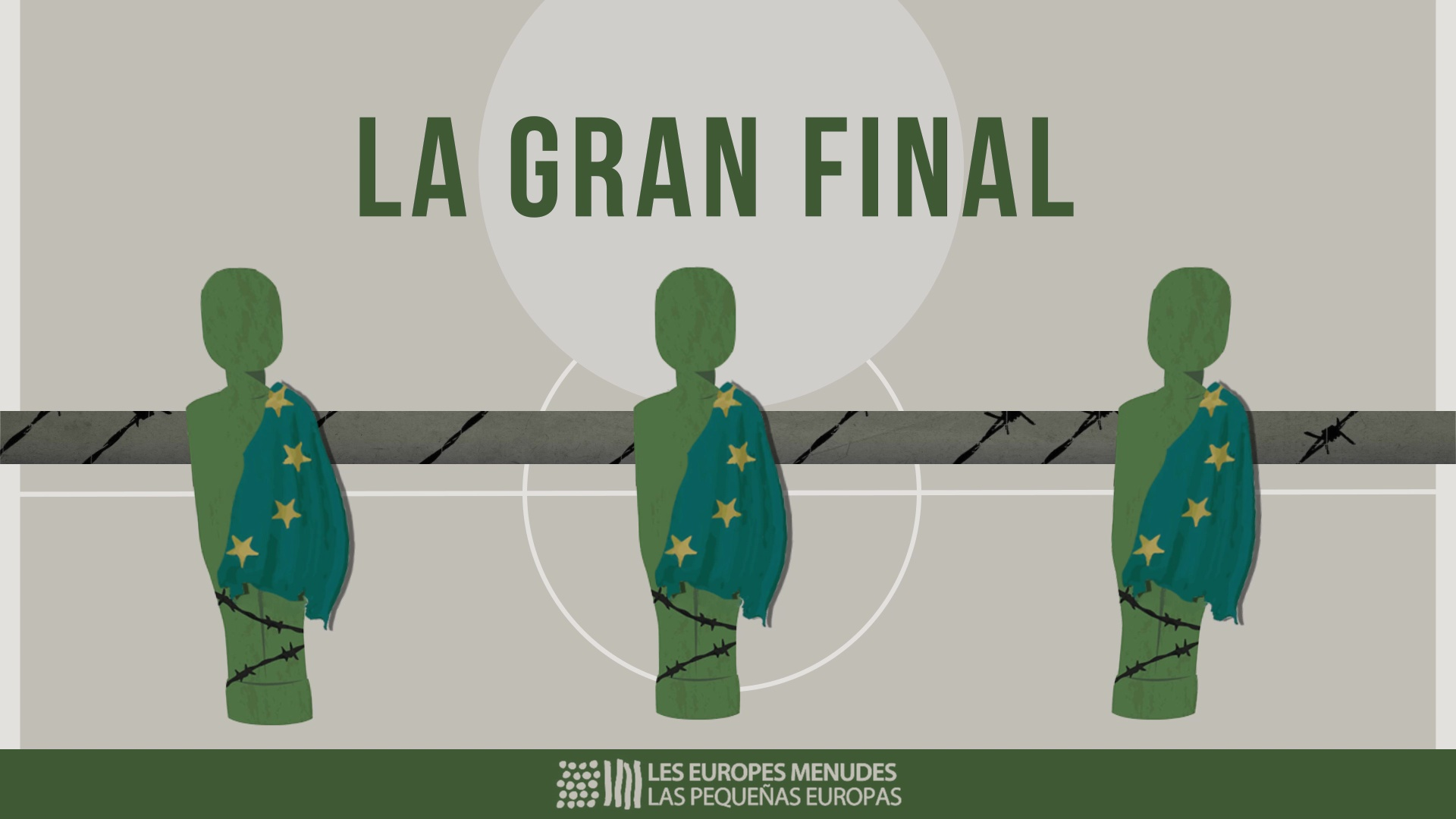 Image of the cover of the video;Escena Erasmus 'LA GRAN FINAL'