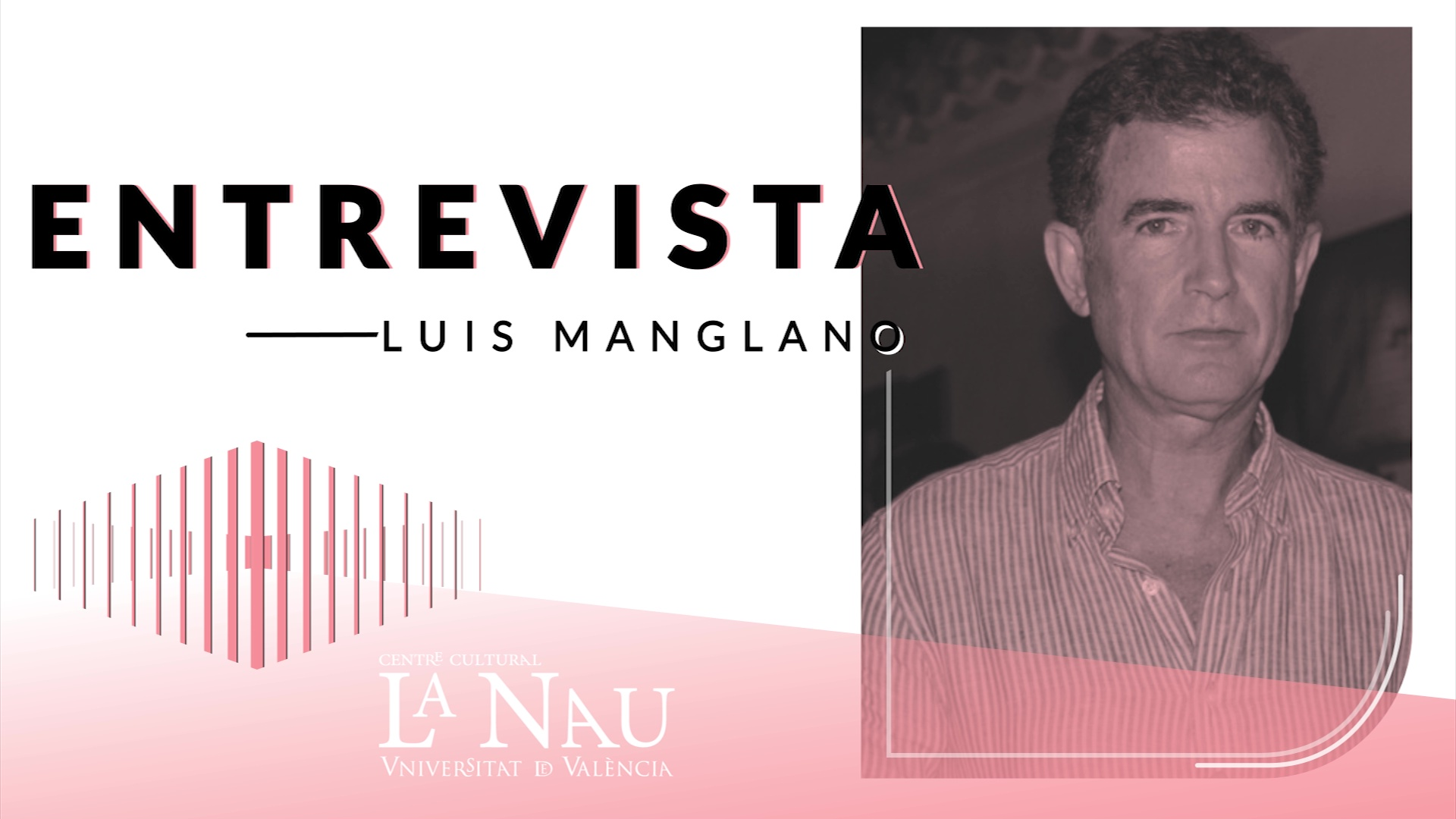 Image of the cover of the video;Entrevista a La Nau. Luis Manglano