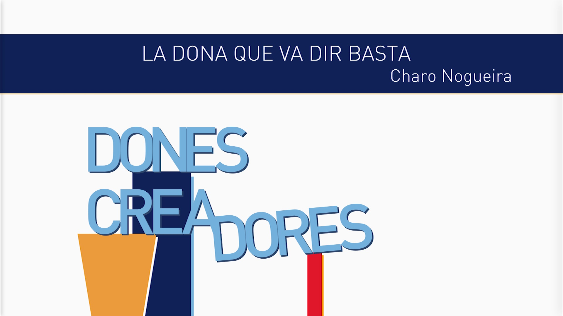 Image of the cover of the video;Cicle EEP LLUIS VIVES - Dones Creadores. Charo Nogueira